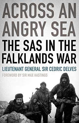 book : across an angry sea the sas in the falklands war -...
