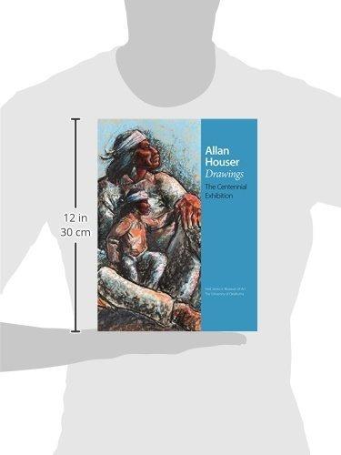 book : allan houser drawings the centennial exhibition -...