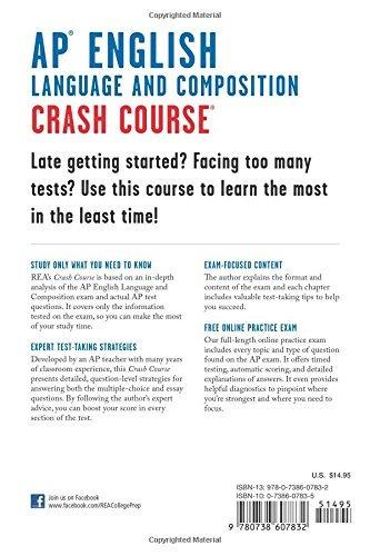 Book : Ap English Language & Composition Crash Course Boo