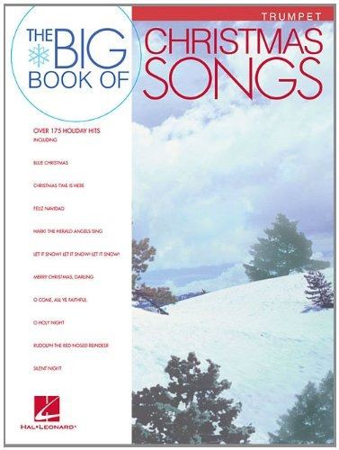 book : big book of christmas songs for trumpet - beale, g...