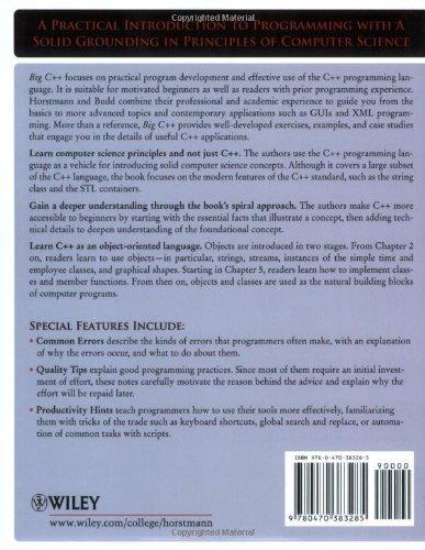 Big C++, 2nd Edition
