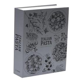 Book Box Metaliz Italian Pasta 26x20x7cm 26x20x7cm