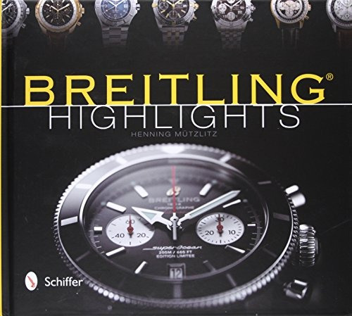 book : breitling highlights - henning mutzlitz