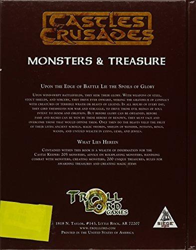 Castles & Crusades Monsters & Treasure