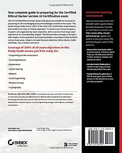 Book : Ceh V10 Certified Ethical Hacker Study Guide
