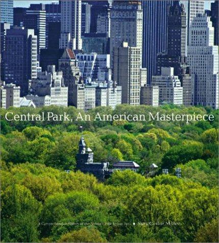 book : central park, an american masterpiece: a comprehen...