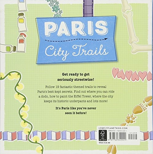 book : city trails - paris (lonely planet kids) - lonely ...