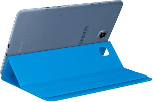 book cover de samsung galaxy tab a 8.0 azul