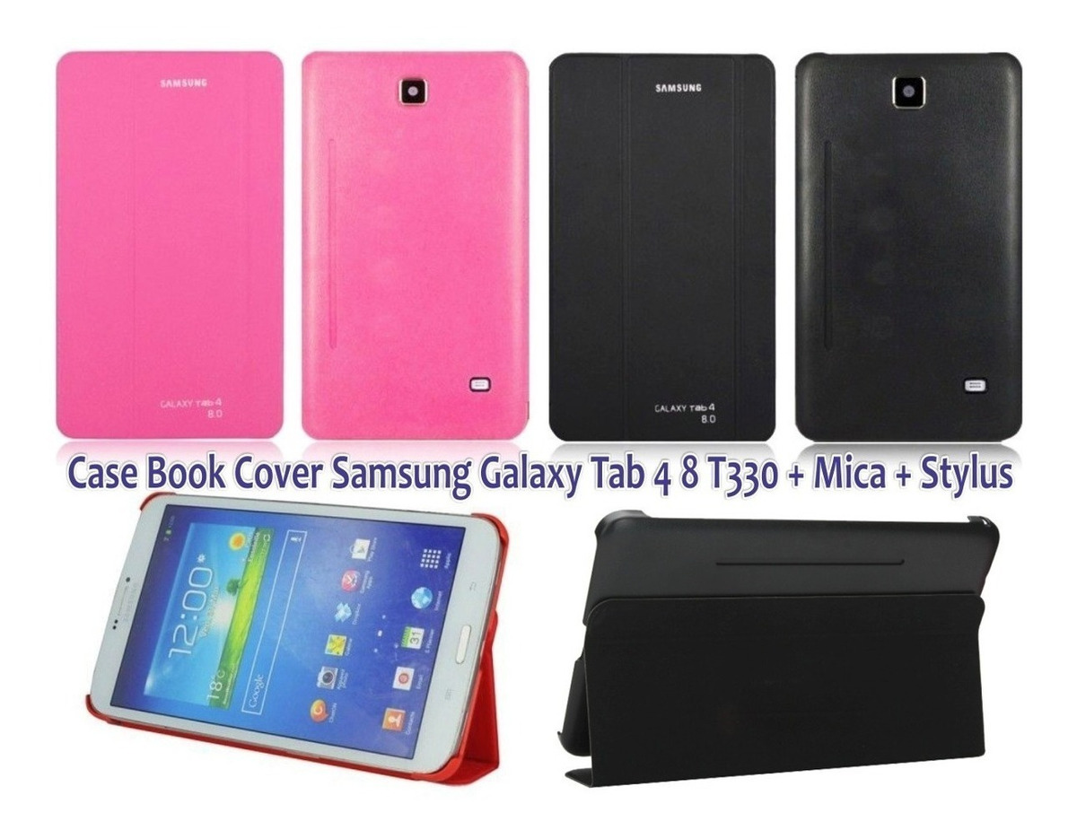 newest 67eb5 4a3d7 Book Cover Samsung Galaxy Tab 4, 8.0 . T330, T331. Rosado.
