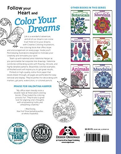 Book : Creative Coloring Inspirations: Art Activity Pages