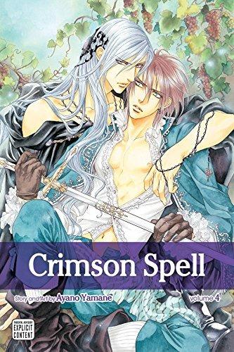 book : crimson spell, vol. 4 - yamane, ayano