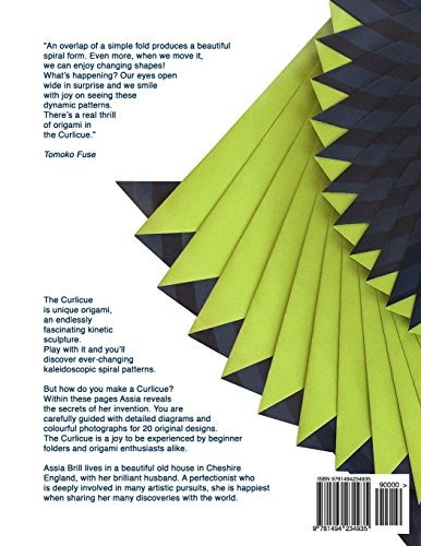 Book Curlicue Kinetic Origami Assia Brill 198900 En