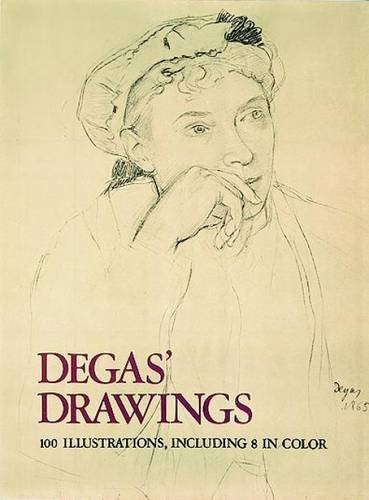 book : degas' drawings (100 illustrations, including 8 i...