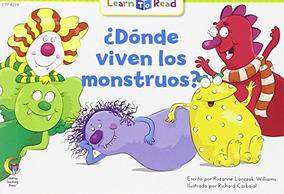 Book Donde Viven Los Monstruos Where Do Monsters Live