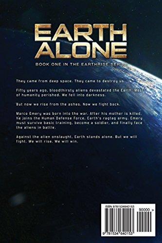 4f0c82d7 Book : Earth Alone: Earthrise Book 1 - Daniel Arenson - $ 1.794,00 ...