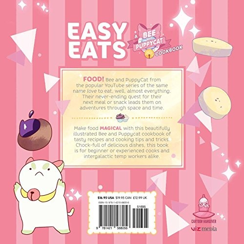 Book easy eats a bee and puppycat cookbook 64900 en mercado book easy eats a bee and puppycat cookbook forumfinder Choice Image