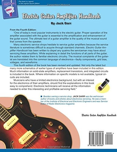 Book Electric Guitar Amplifier Handbook Jack Darr 4 559 00