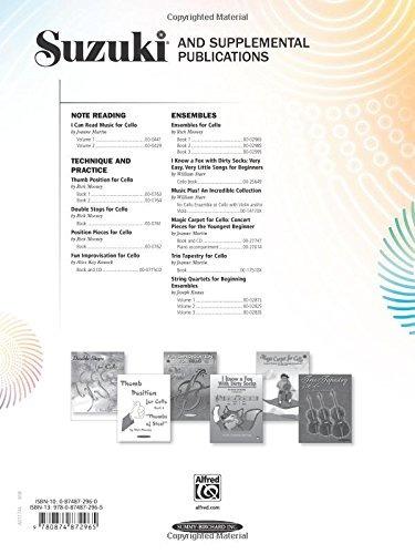 book : ensembles for cello, vol 1 - mooney, rick