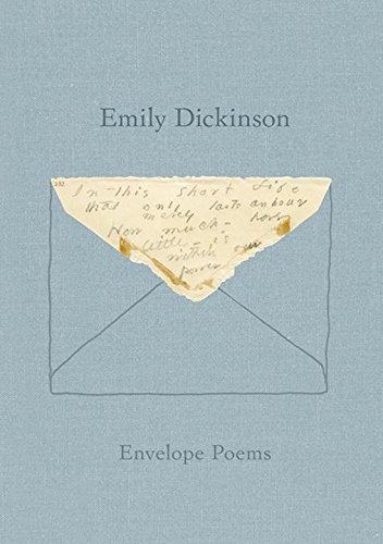 Book Envelope Poems Emily Dickinson