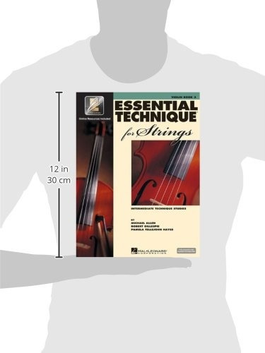 book : essential technique for strings with eei violin -...