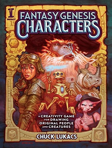 book : fantasy genesis characters a creativity game for...