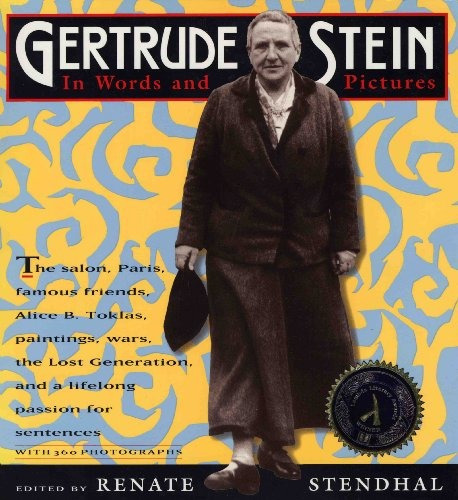 book : gertrude stein in words and pictures - rubin, barry