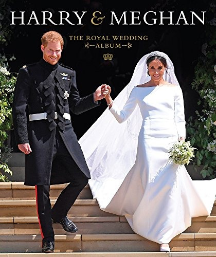 book : harry & meghan the royal wedding album - sadat, ha...