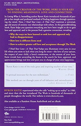 book : i need your love - is that true?: how to stop seek...