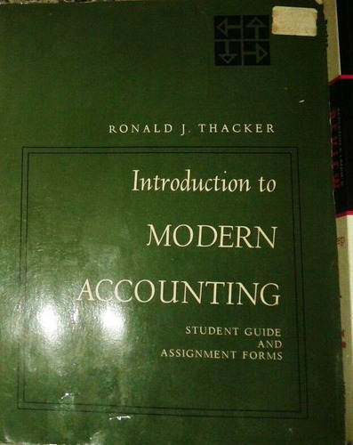 book, introduccing to modern accounting