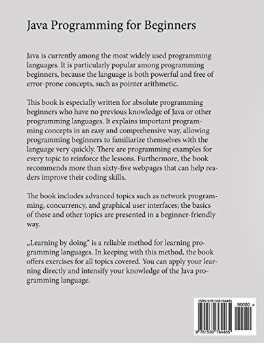 Book : Java Programming For Beginners Learn Programming