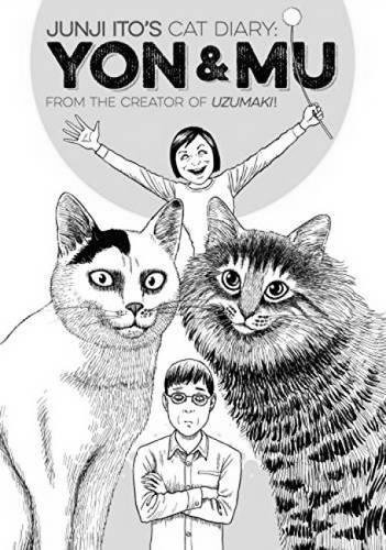 book : junji ito's cat diary: yon & mu