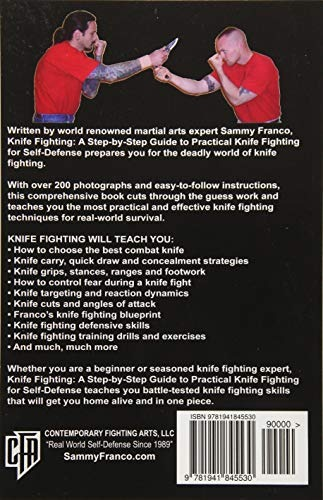 Book : Knife Fighting A Step-by-step Guide To Practical