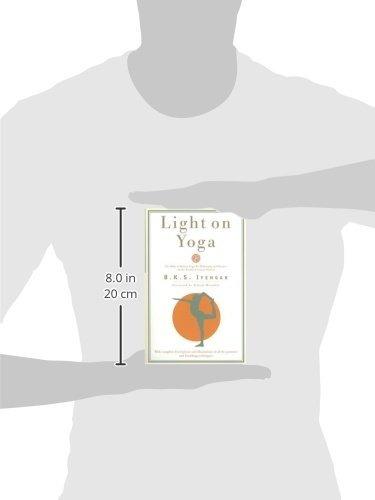 book : light on yoga: the bible of modern yoga - b. k. s....