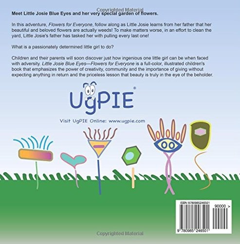 book : little josie blue eyes - flowers for everyone - ke...