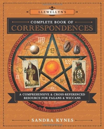 book : llewellyn's complete book of correspondences: a c...