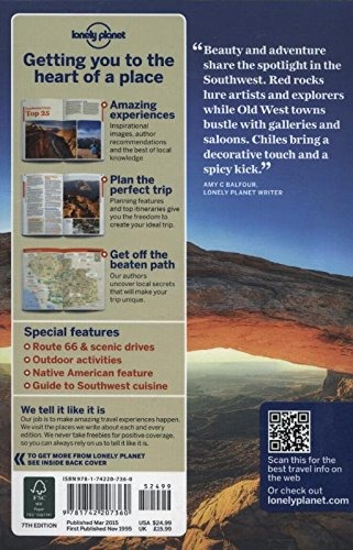 Book Lonely Planet Southwest Usa Travel Guide Lonel
