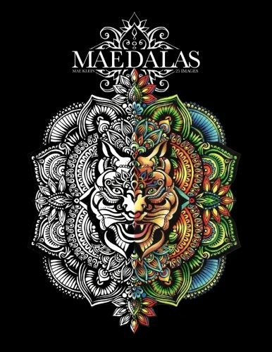 book : maedalas colouring book - klein, mae georgina