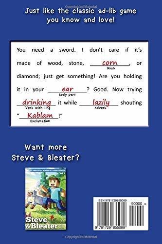 Book : Mine-libs A Minecraft-themed Ad-lib Adventure (volume