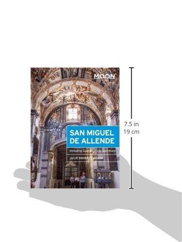 book : moon san miguel de allende: including guanajuato &..