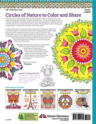 960+ Nature Mandalas Coloring Book Best HD
