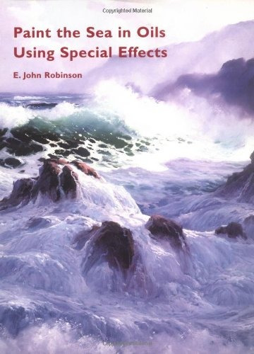 book : paint the sea in oils using special effects -...