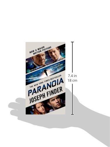 Paranoia Joseph Finder Ebook