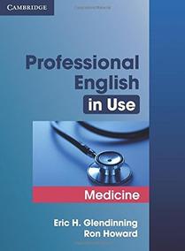 Book : Professional English In Use Medicine - Glendinning,