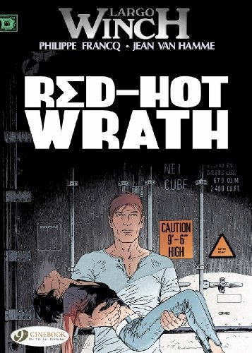 book : red-hot wrath (largo winch) - hamme, jean van