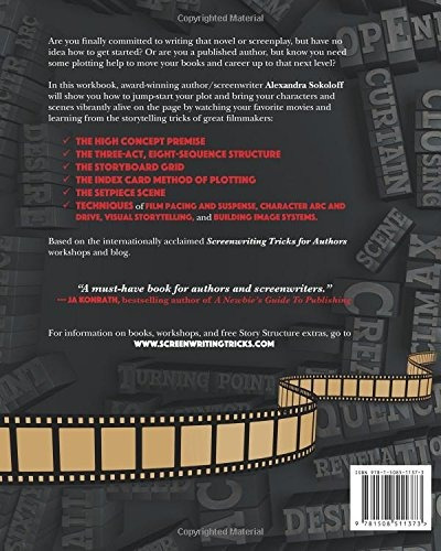 book : screenwriting tricks for authors (and screenwriter...