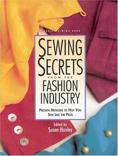 book : sewing secrets from the fashion industry proven...