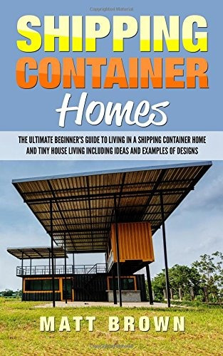 book : shipping container homes: the ultimate beginne (9407)