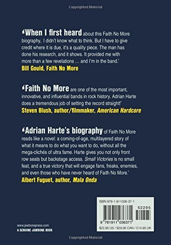 book : small victories the true story of faith no more -...