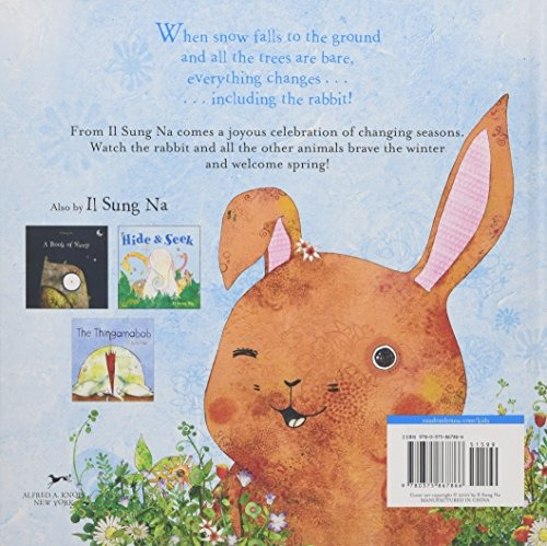 snow rabbit spring rabbit a book of changing seasons na il sung