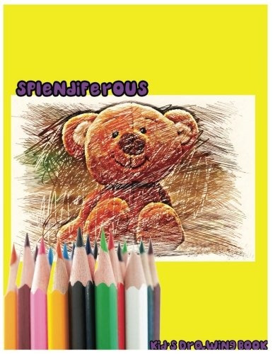 book : splendiferous kids drawing book   large 8.5 (6394)